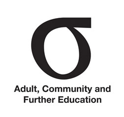 Adult. Community and Further Education