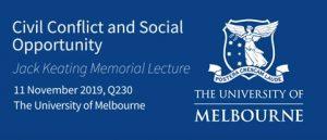 Keating memorial lecture