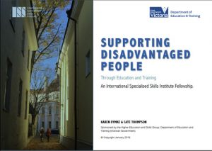 Supporting disadvantage