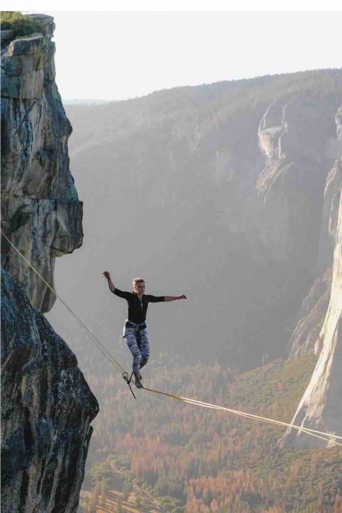 Tight rope balance
