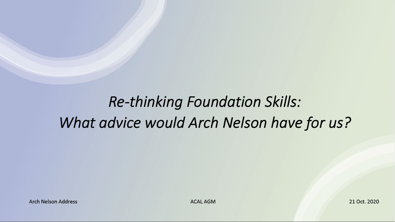 Arch Nelson Address
