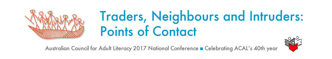 2017 ACAL Conference - Trader, Neighbours, Intruders: Points of Contact