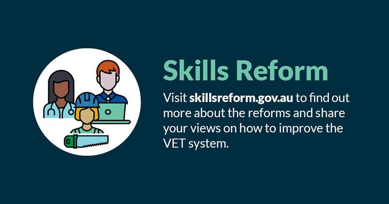 VET reform consultation opens
